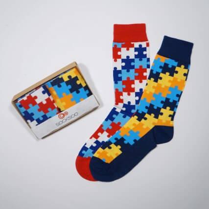 Confezione regalo Calze Puzzle